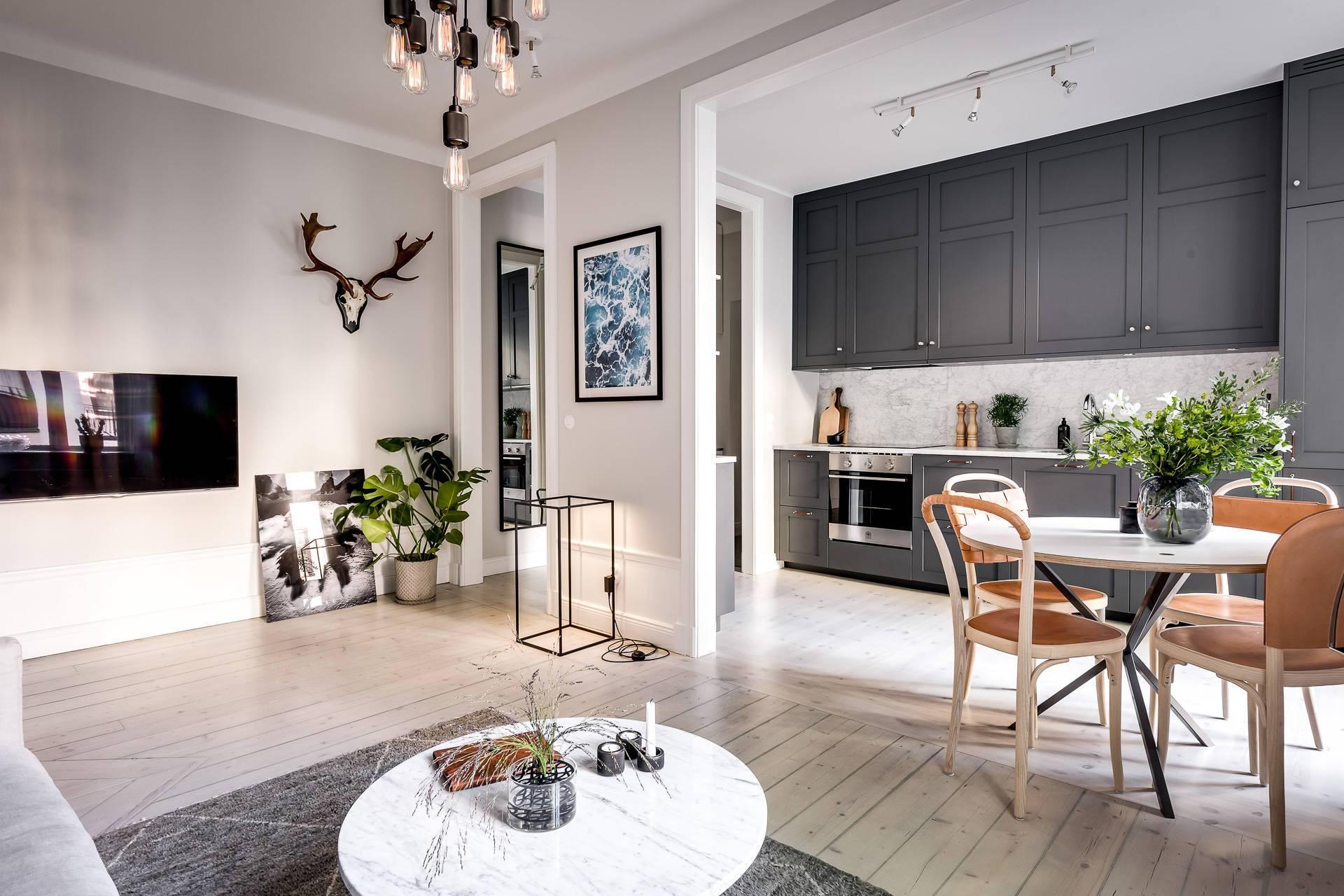 Дизайн квартиры в скандинавском стиле 2019 год
