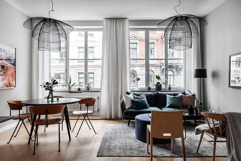 Квартира 68 кв. метров в Швеции