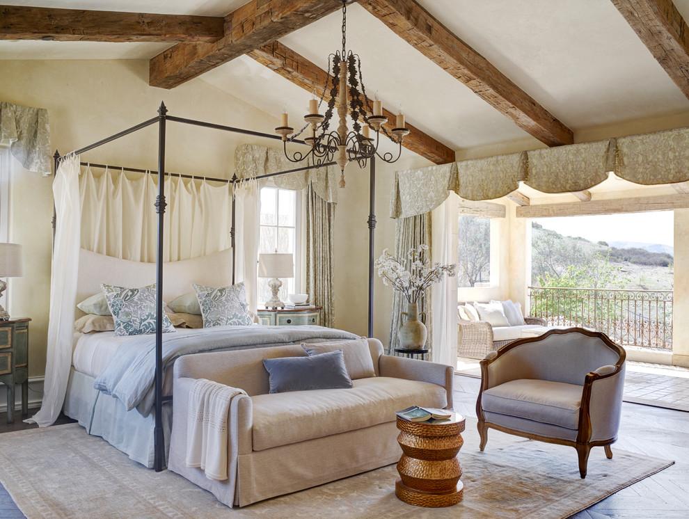 Роскошная и вдохновляющая спальня на вилле