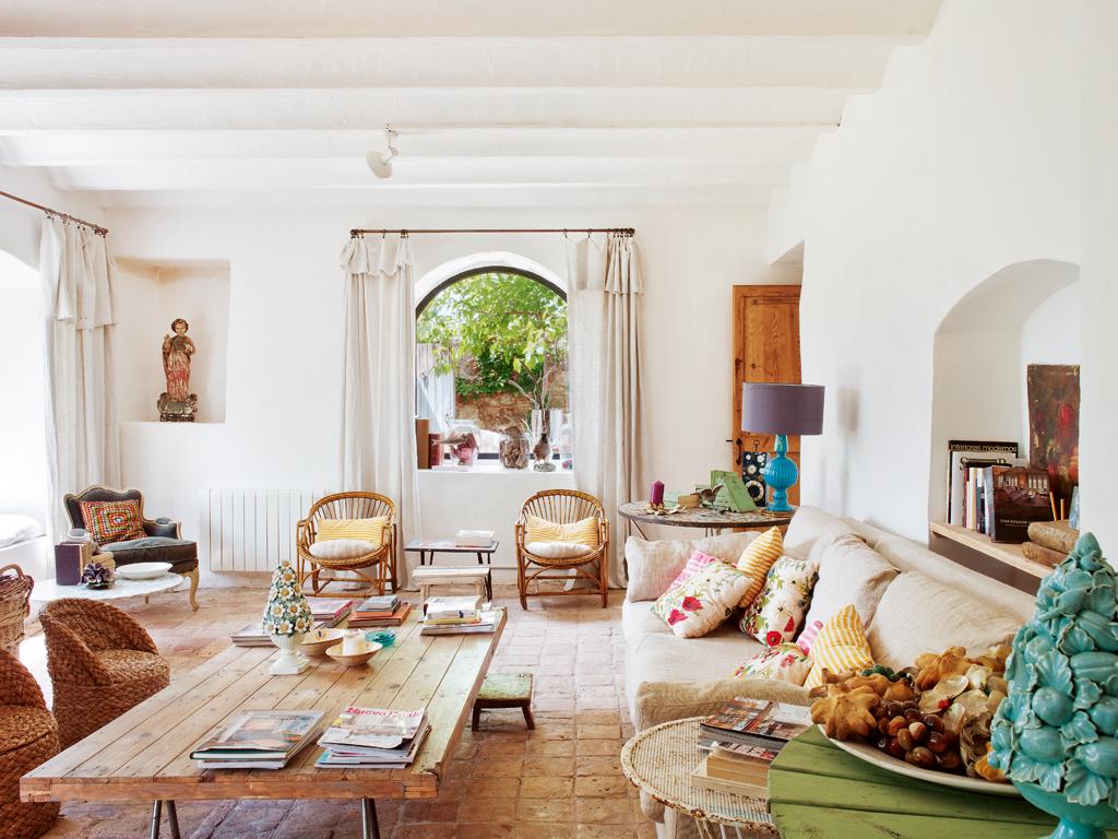Средиземноморский стиль в дизайне интерьера: 85 фото