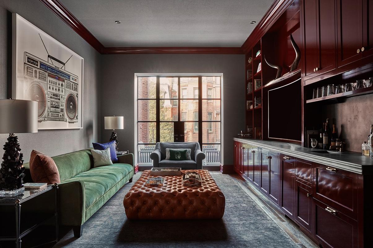 Английский стиль в дизайне интерьера маленькой квартиры 2019 года