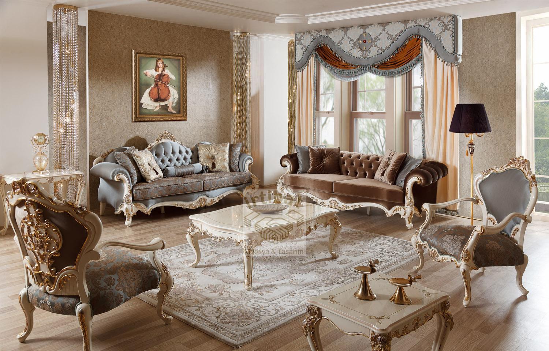 Роскошный сет мебели для гостиной