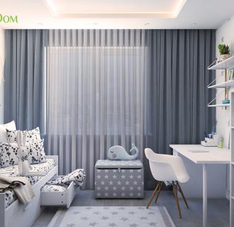 Дизайн четырехкомнатной квартиры 105 кв. м в современном стиле. Фото проекта