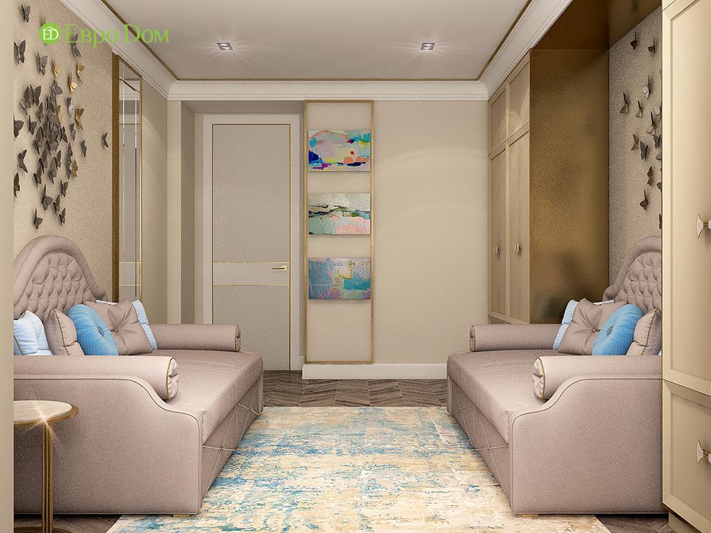 Дизайн квартиры в стиле ар-деко: 30 фото проекта