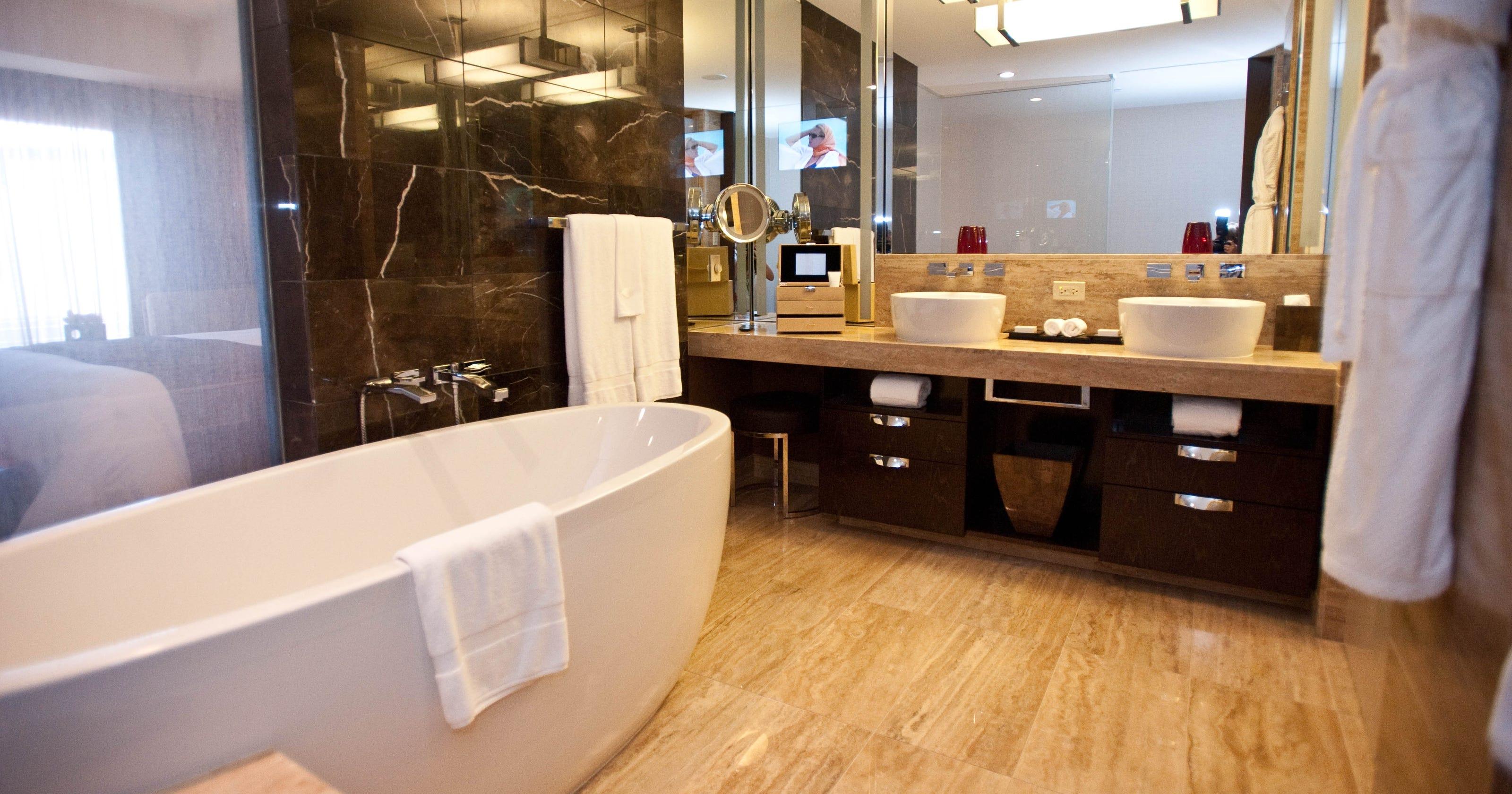 Люксовая ванная комната