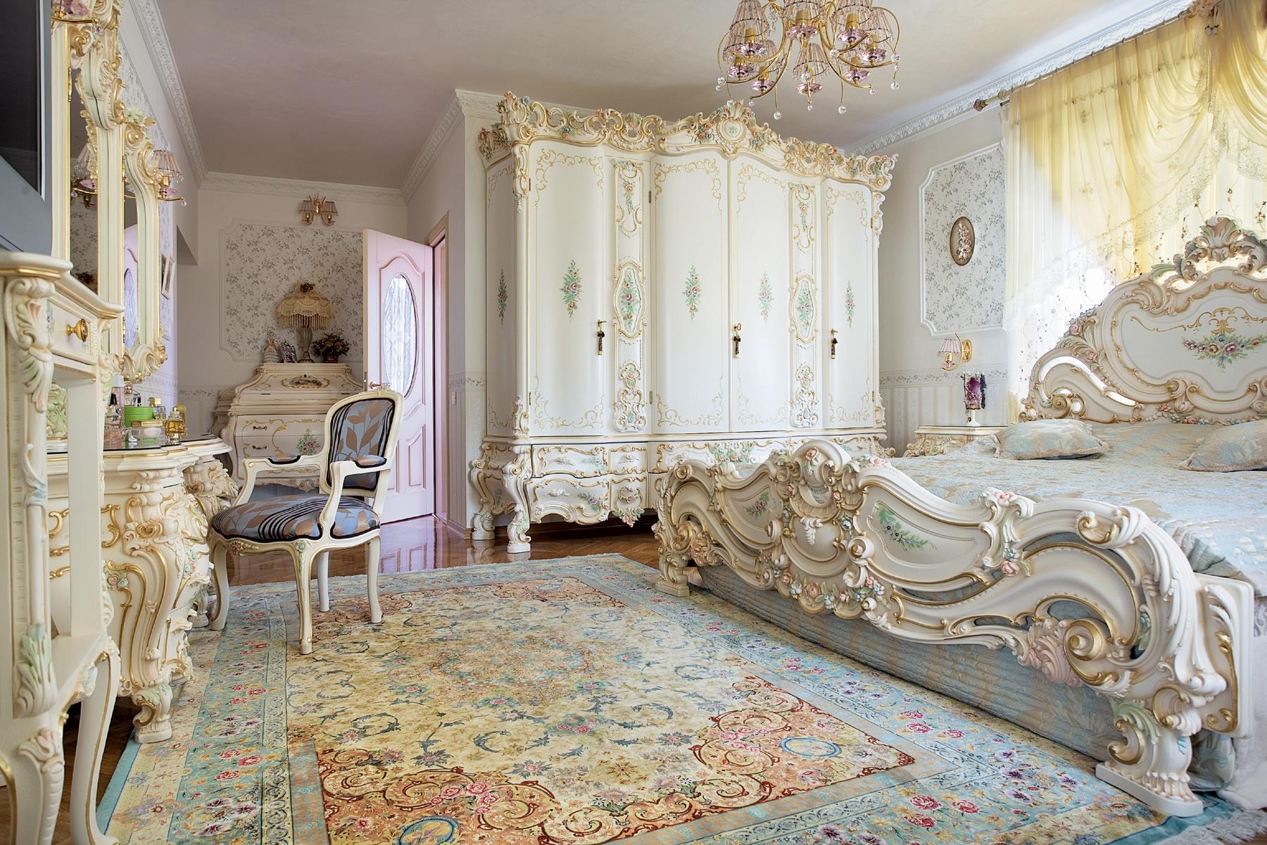 Стиль барокко в дизайне интерьера: 55 лучших фото