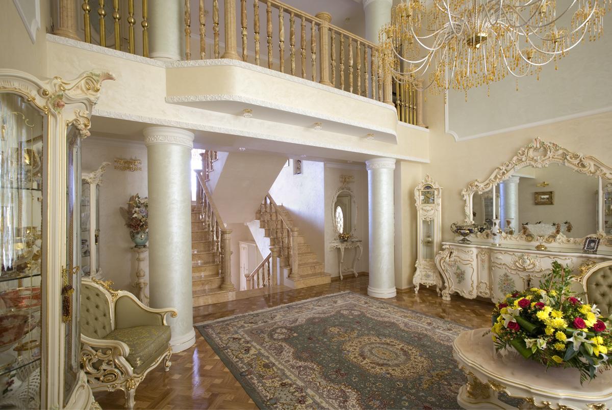 Отделка и ремонт интерьера в дворцовой стилистике
