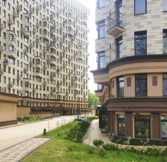 Ремонт двухкомнатной квартиры 82 кв. м в современном стиле. Фото проекта